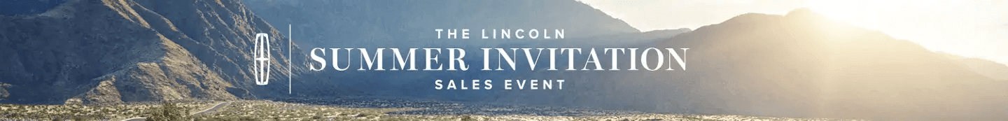 Lincoln Summer Invitation Sales Event